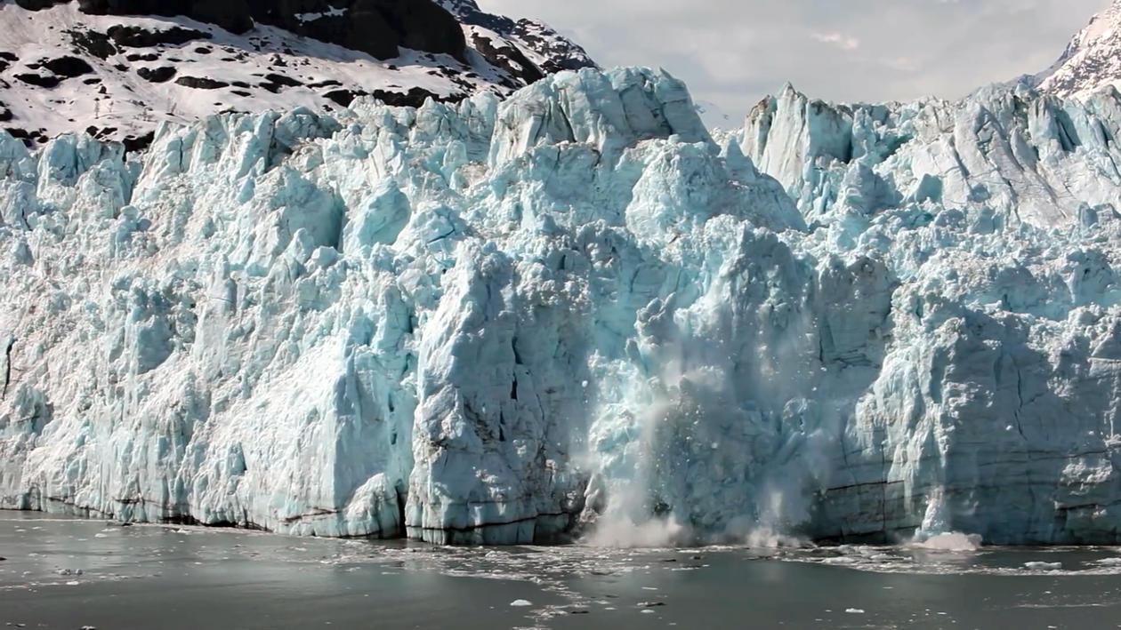 Bilde av isbre