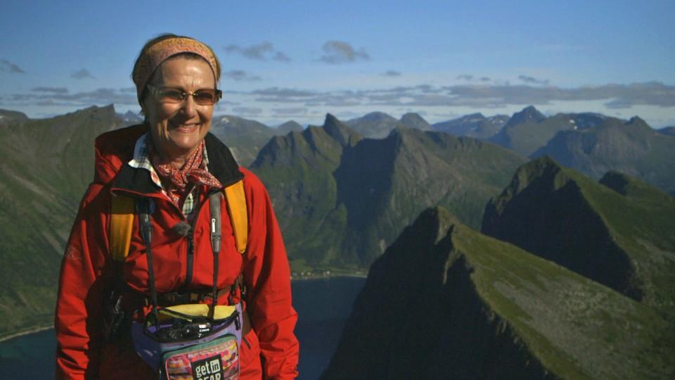 Dronning Sonja, bilde fra NRK-program