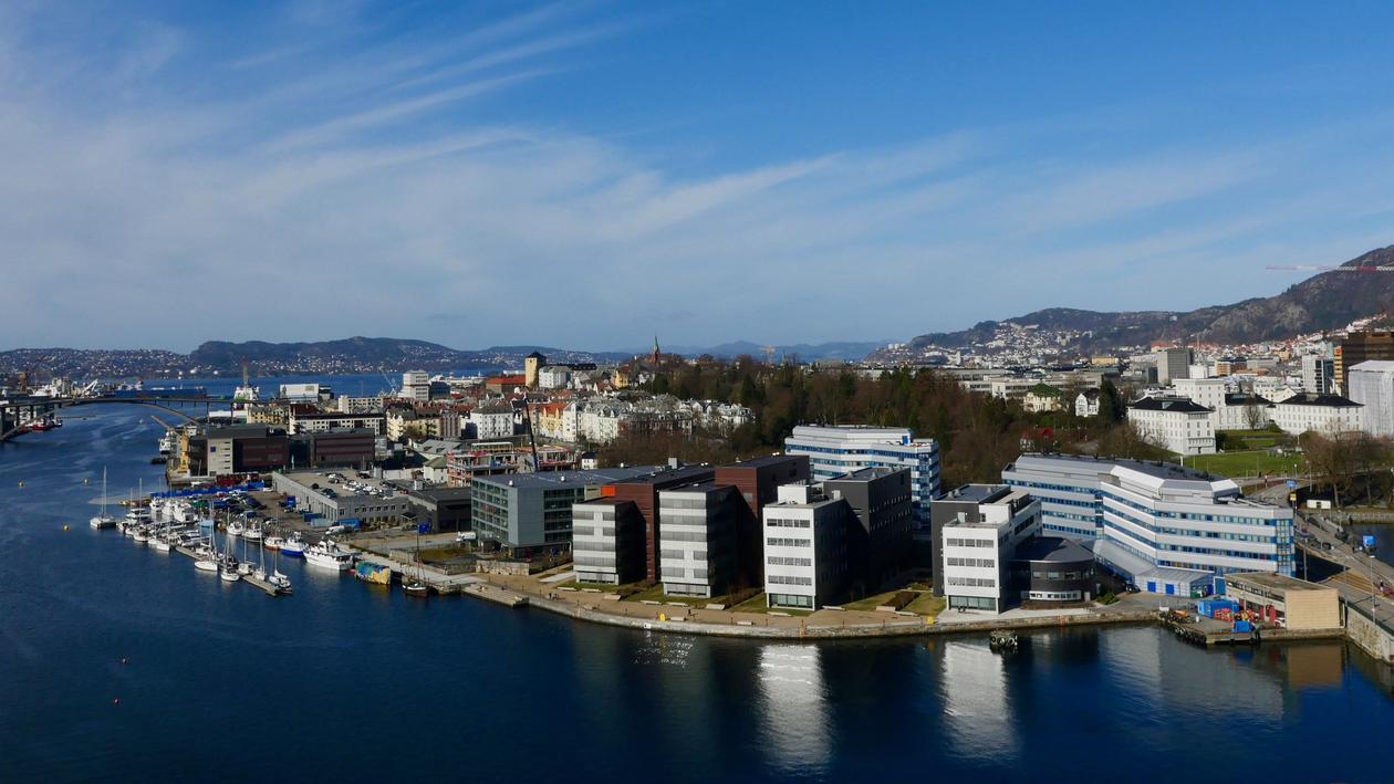 Flyfoto Marineholmen