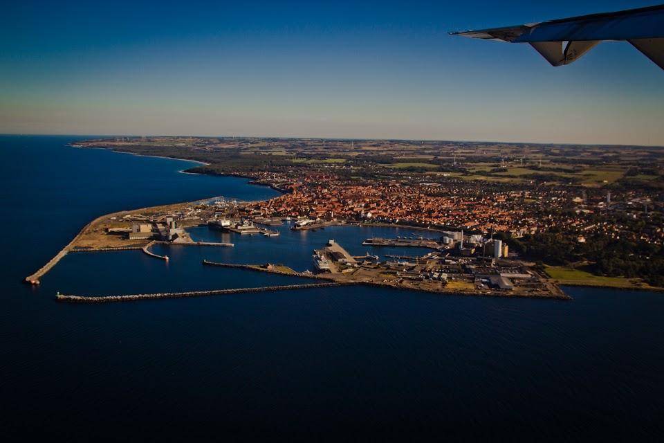 Flyfoto Bornholm