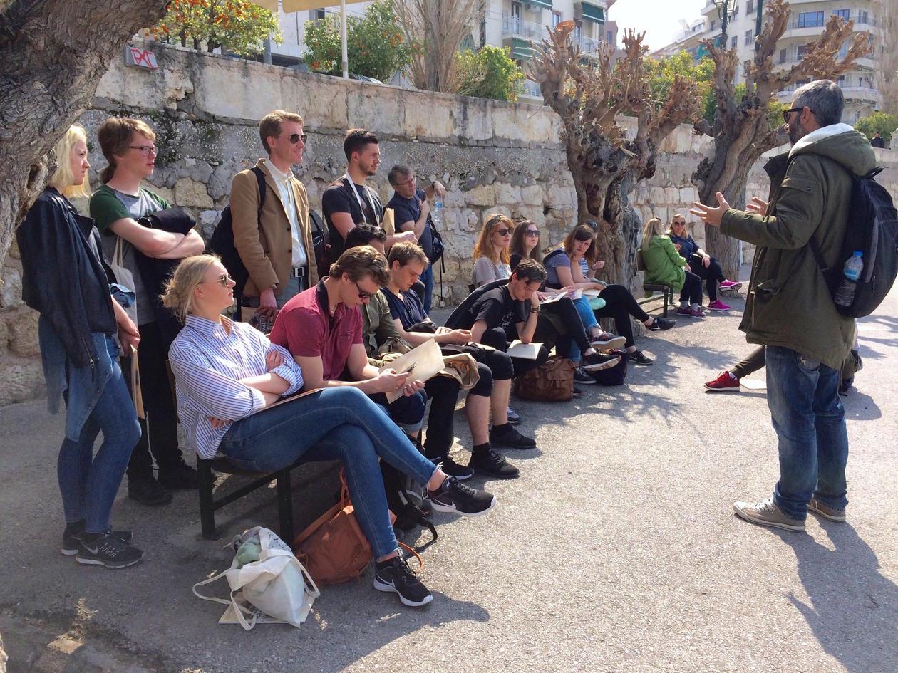 Foredrag i Piareus