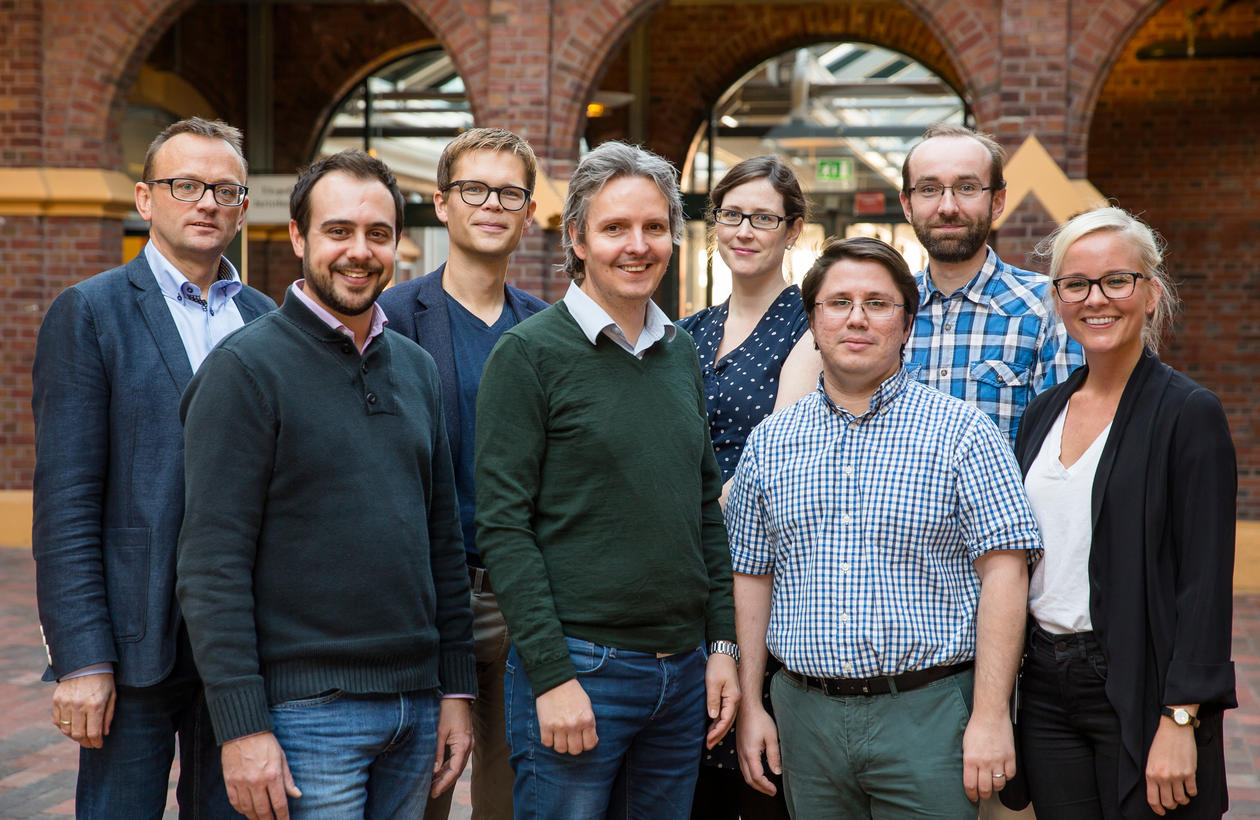 Picture of members of the research group