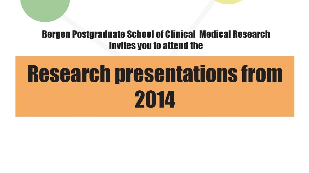 research presentation 2014 front
