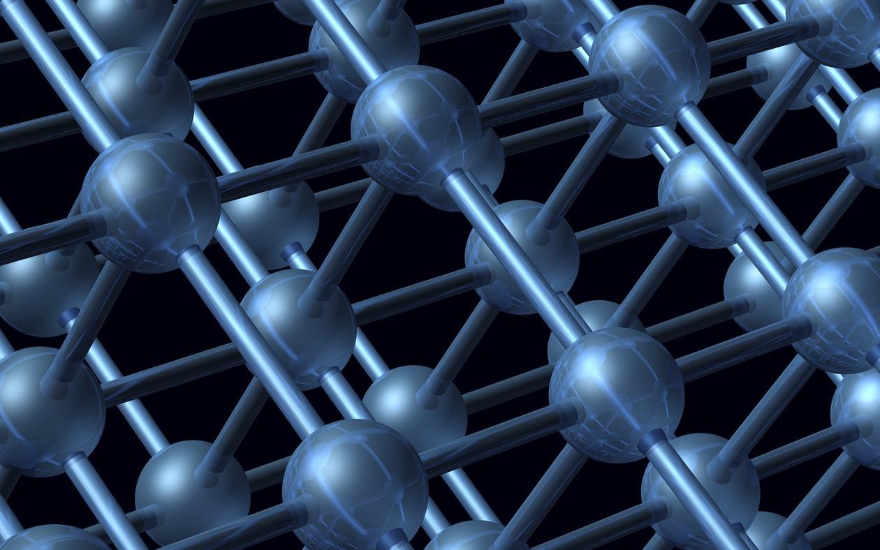 Metal-organic frameworks, illustration