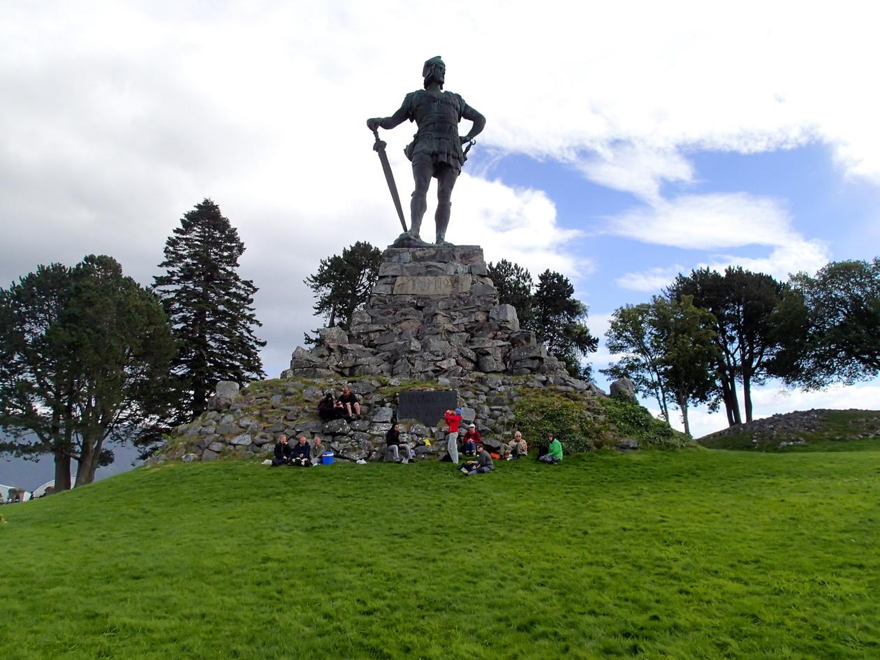 Bilde av Fridtjof statuen