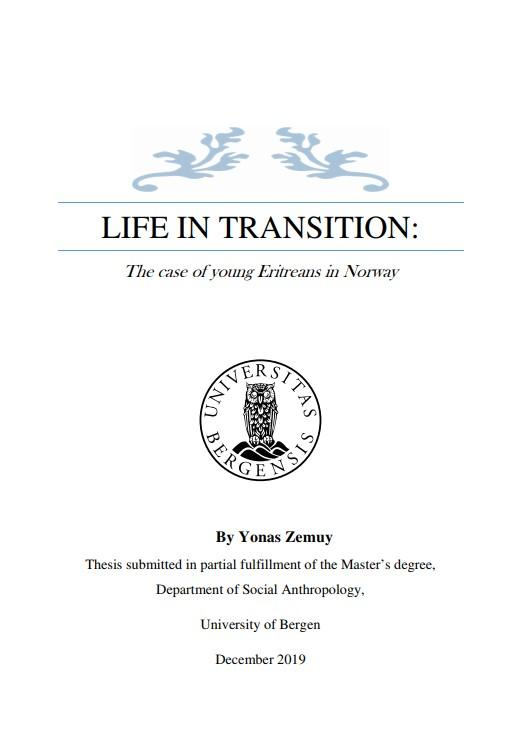 Front page master's thesis