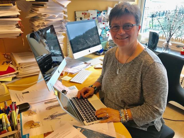 Gisela Böhm, Det psykologiske fakultet