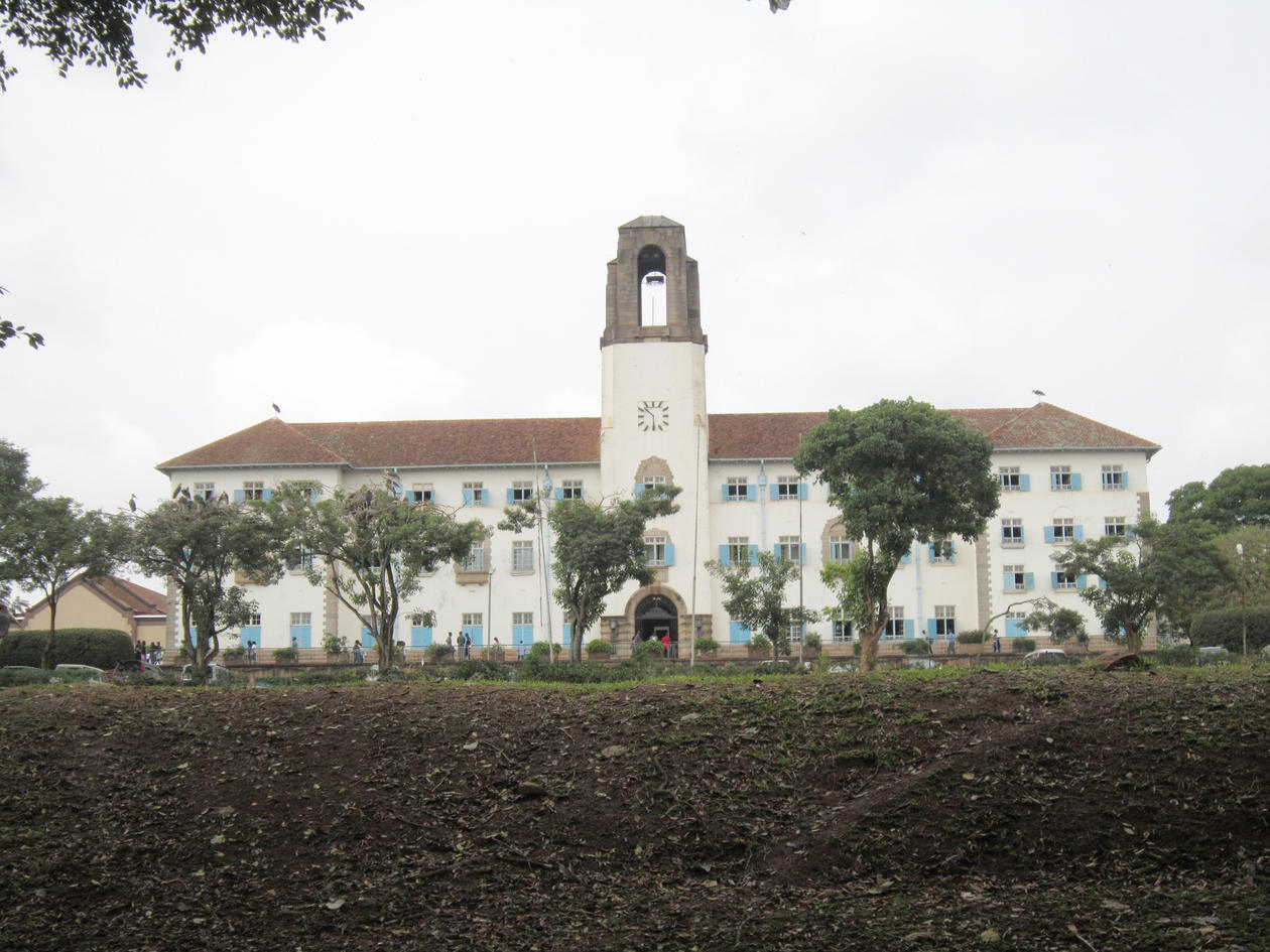 Gamle hovedbygg Mulago hospital