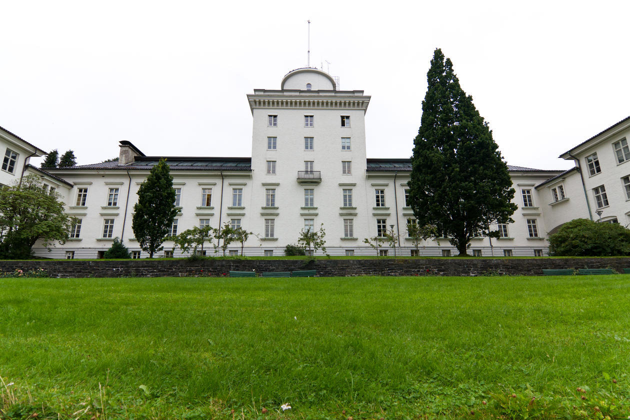 The west wing of the Geophysical Institute will host the climate elite after rehabilitation.
