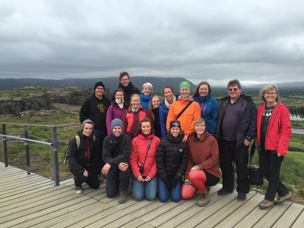 Bilde fra Thingvellir, Island GEOV323