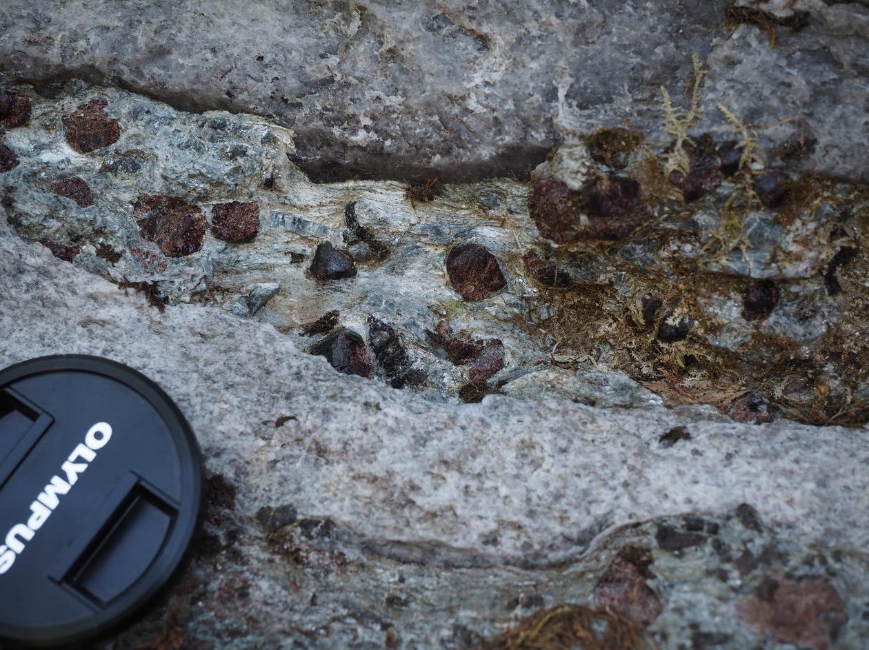 Granat-staurolitt-kyanitt glimmerskifer