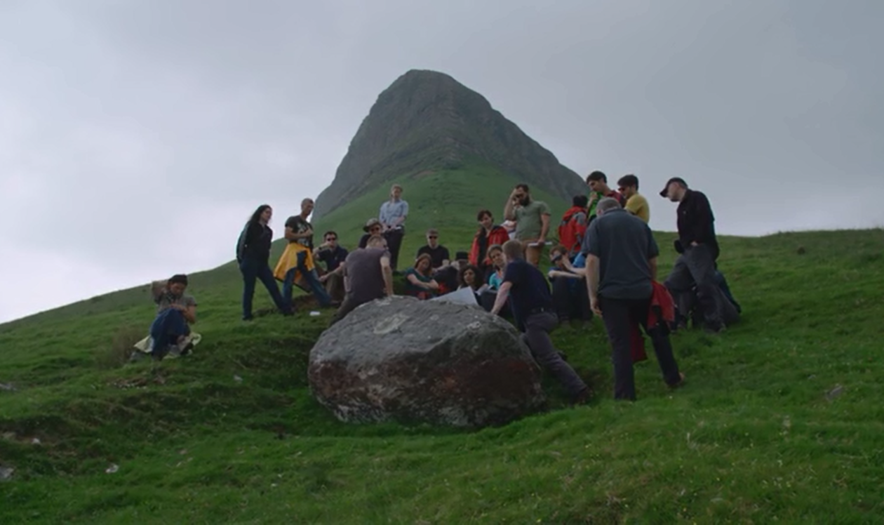 GLANAM ITN excursion to Benbulben, Irland, June 2016