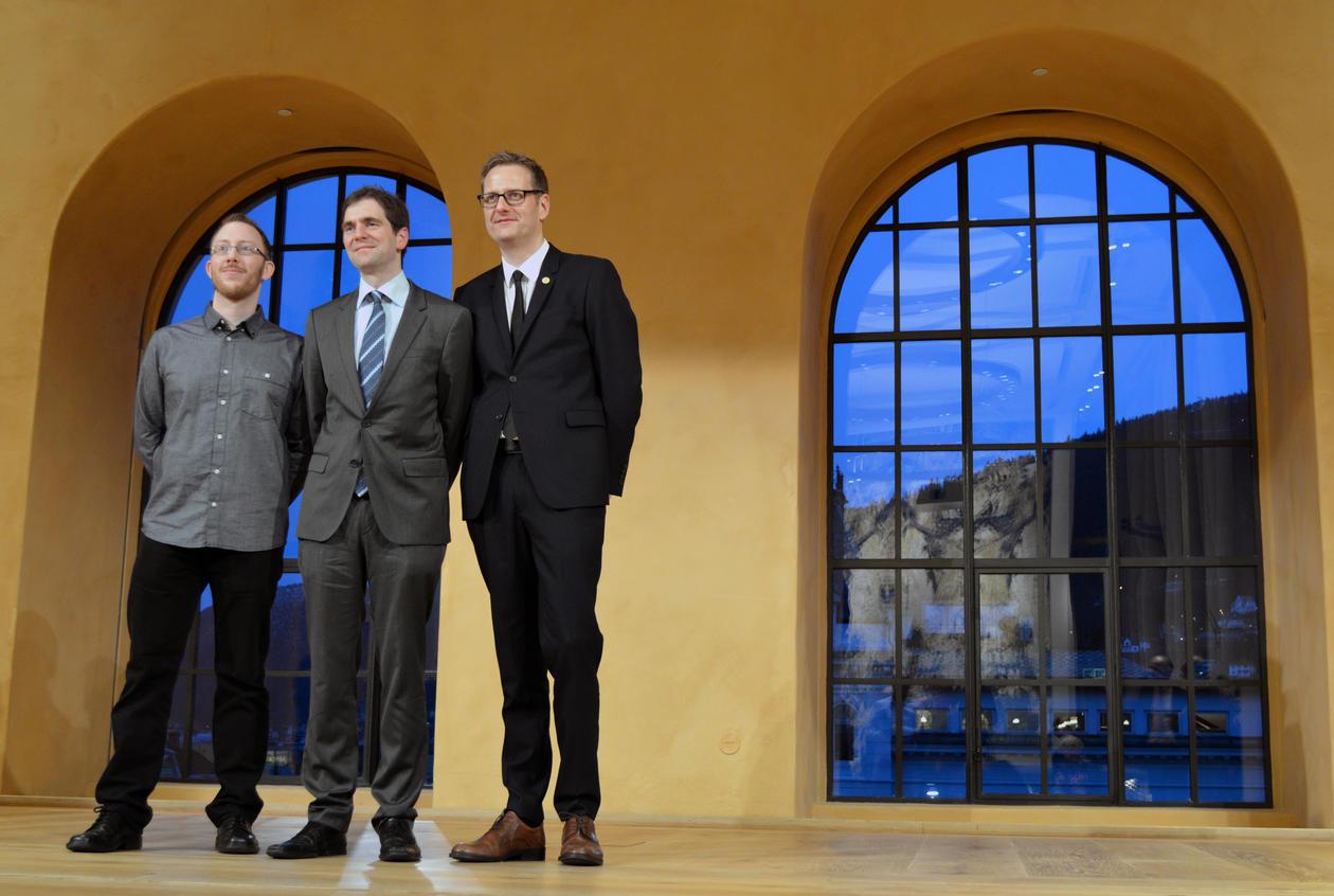 Harald Barsnes, Marco Hirnstein og Harald Haarstad.