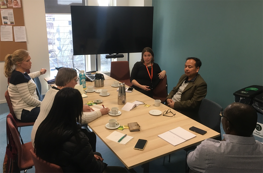 Bhutan meeting