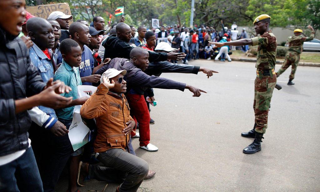 Solidarity March, 18 Nov 2017, Zimbabwe.