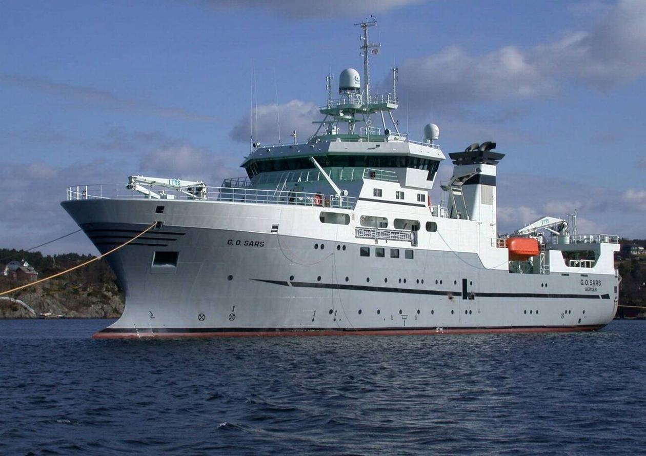 Forskningsbåten G.O. Sars