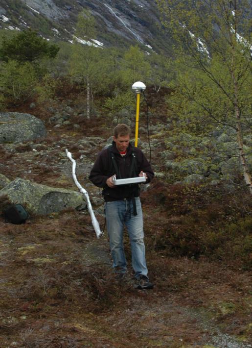 Malå GPR with rough terrain antenna (RTA)