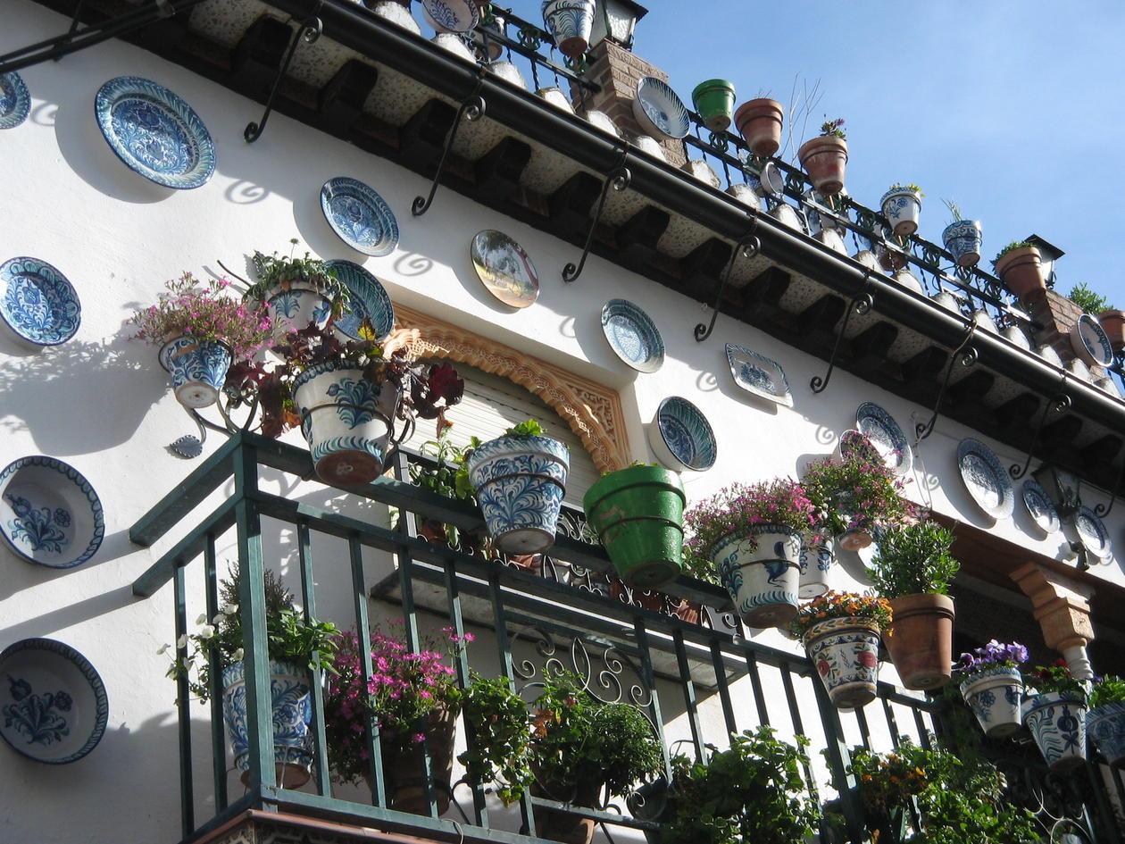 Granada blomsterpotter