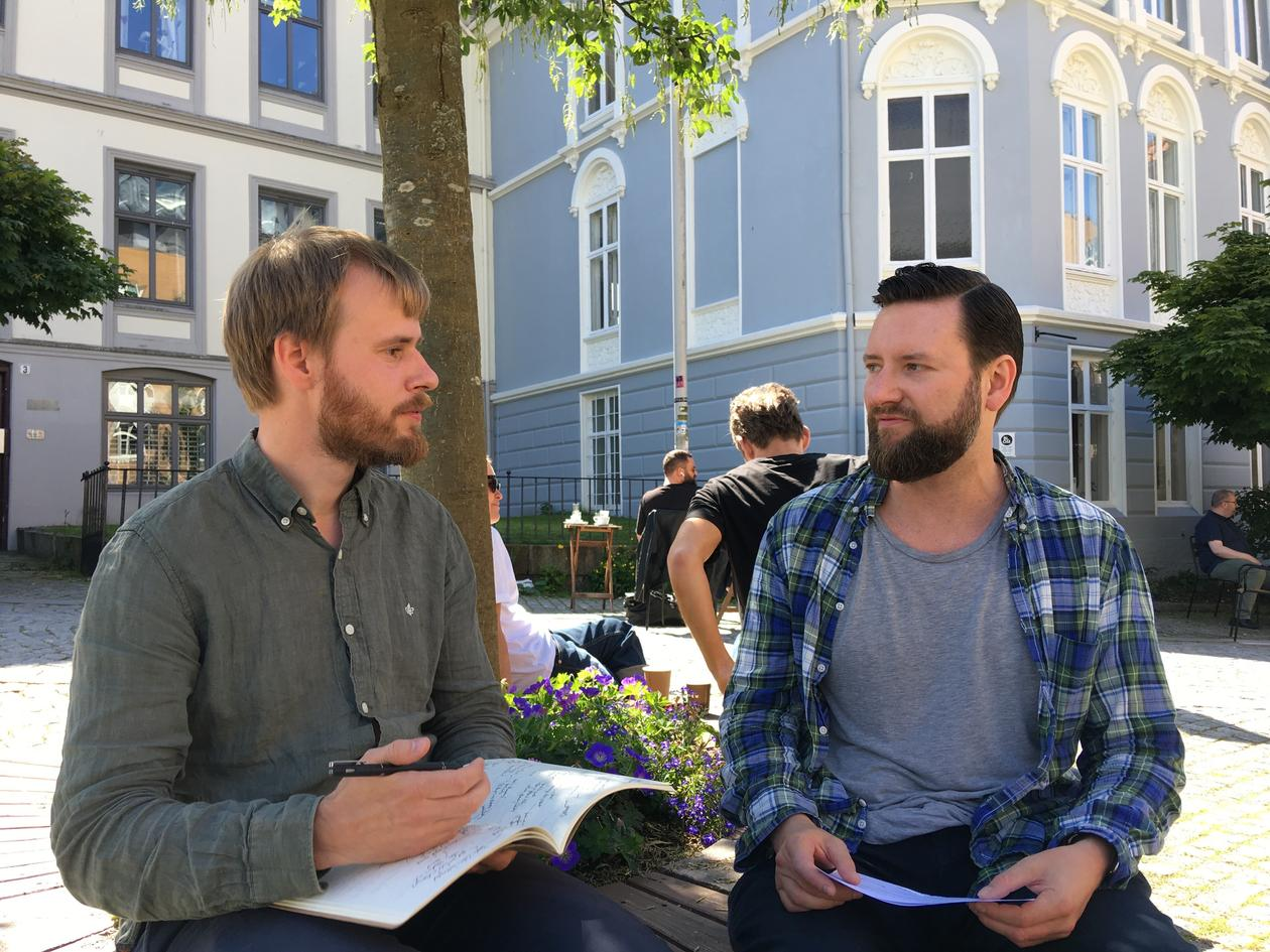 Jakob Grandin and Jan Reinert Karlsen