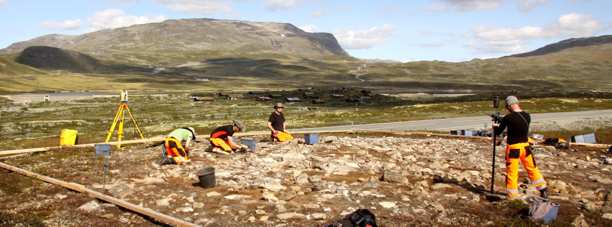 Utgraving Lærdal