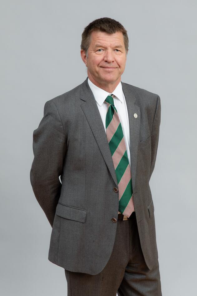 Vice-rector Gottfried Greve