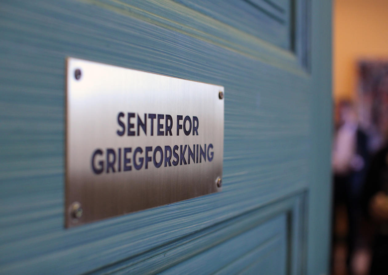 Senter for Griegforskning