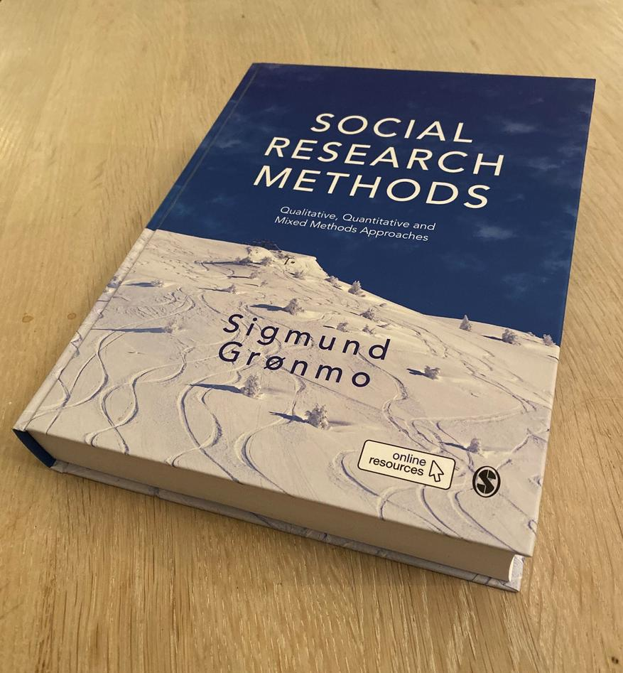 Bilde av boka: Social Research Methods, Sigmund Grønmo