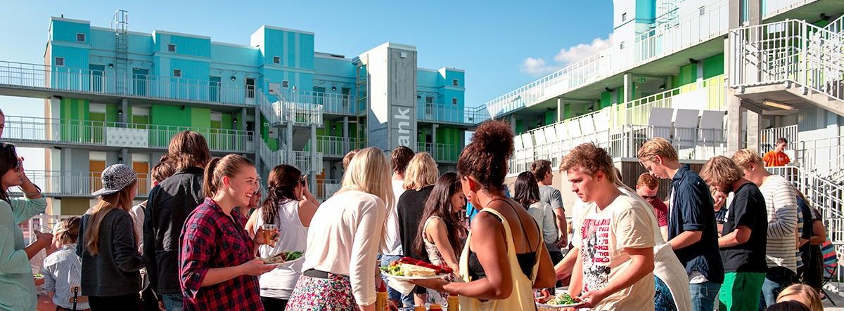 Grønneviksøren student hostels and students