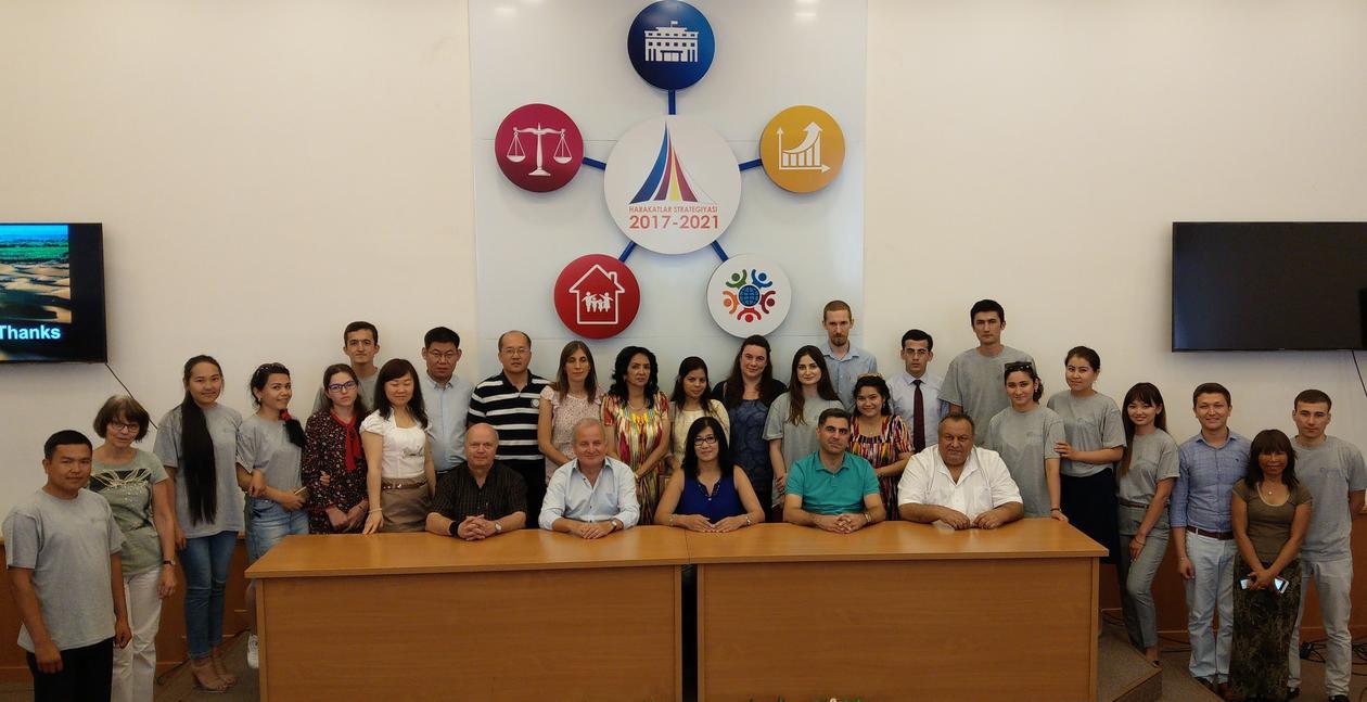 Summer school in Uzbekistan