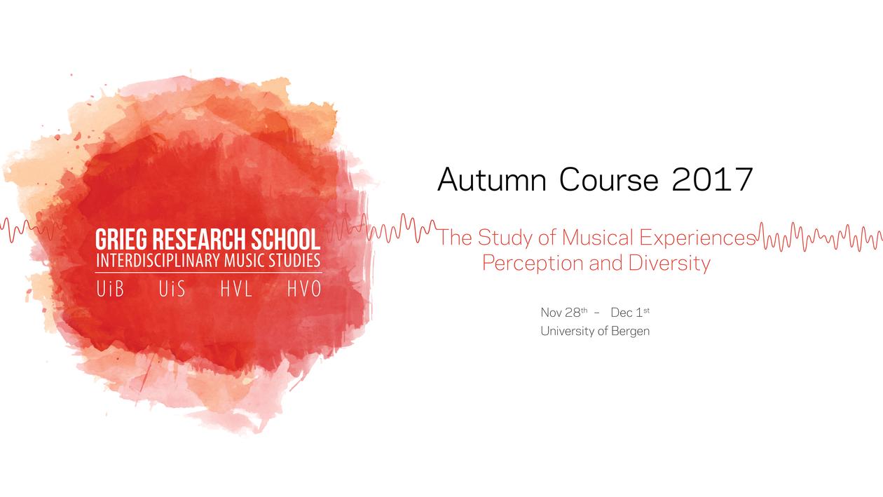 GRS Autumn Course 2017