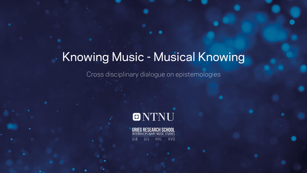 knowing music musical knowing cross disciplinary dialogue on