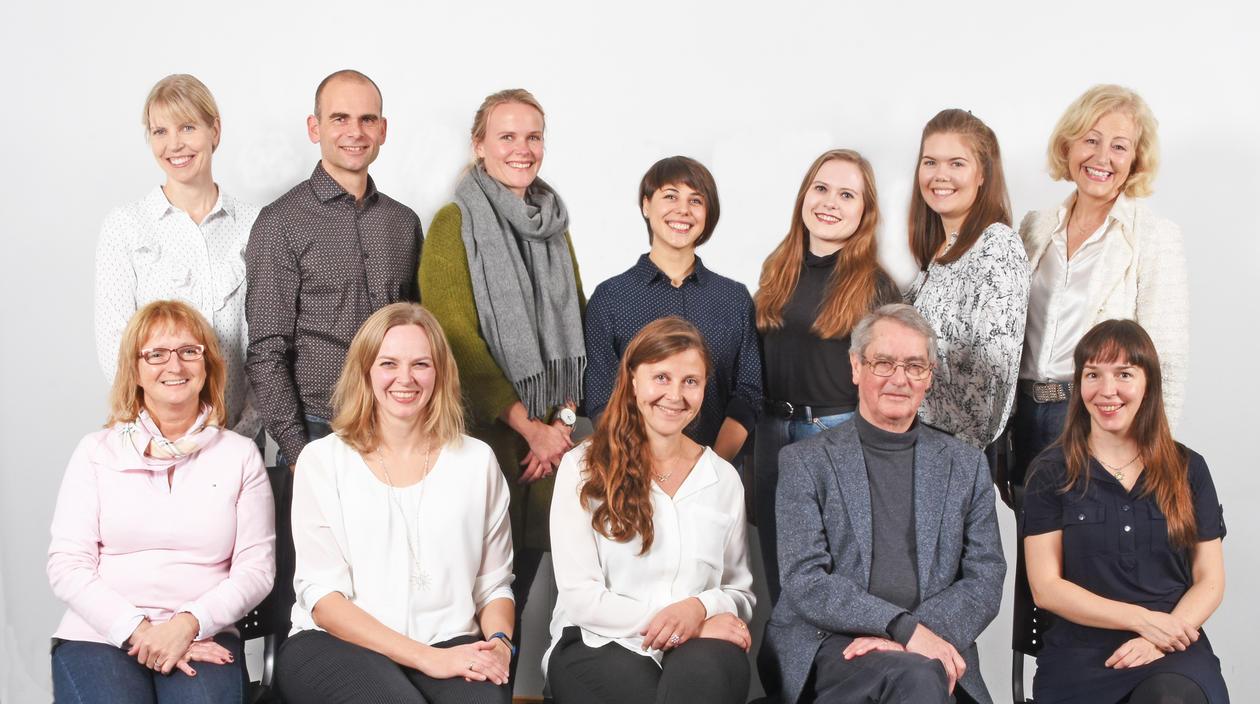 Gruppebilde av forskningsgruppen Bergen stress and sleep group