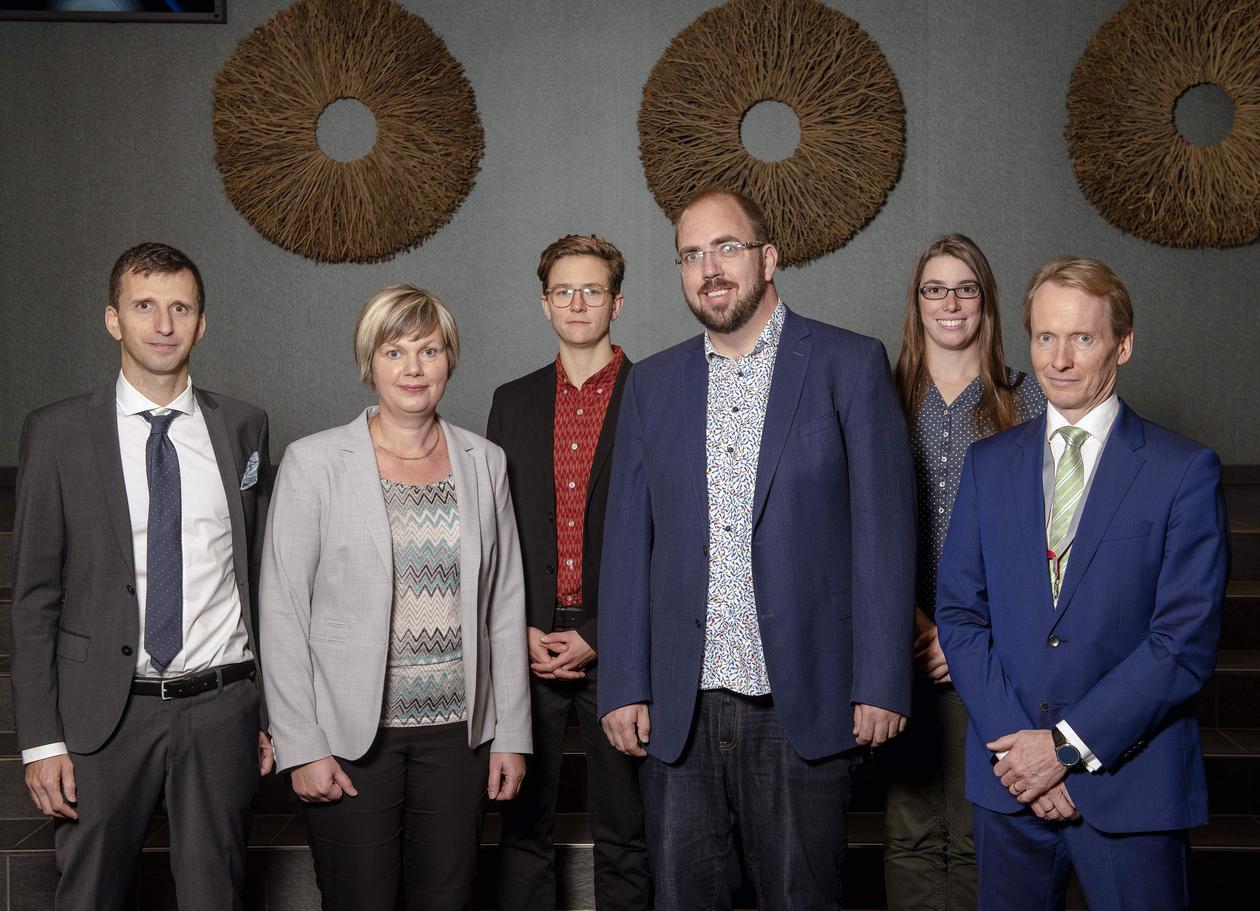 fire fremragende matematikk-forskere til Norge
