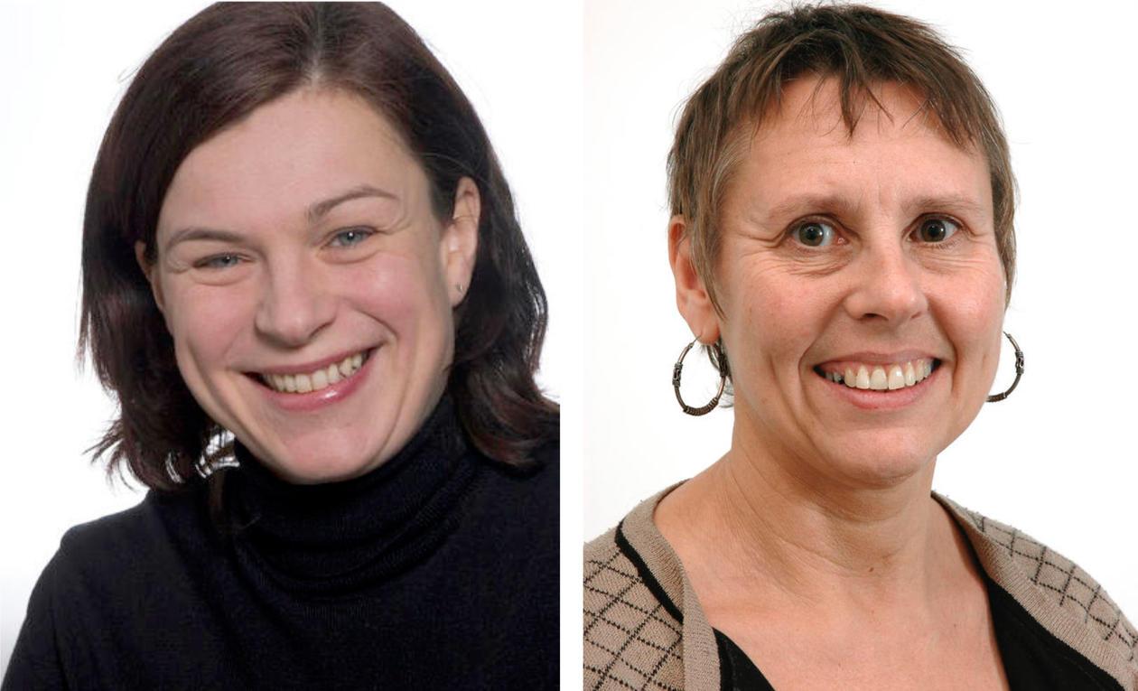 Marit Bakke og Bente Moen