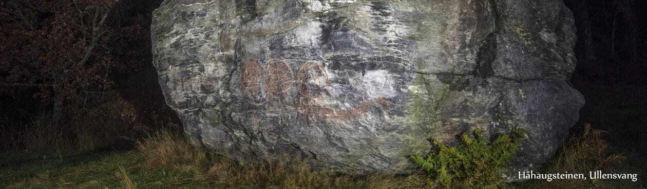 Håhaugsteinene, Ullansvang