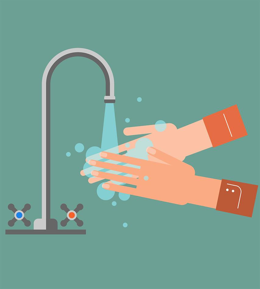 Bilde av håndvask