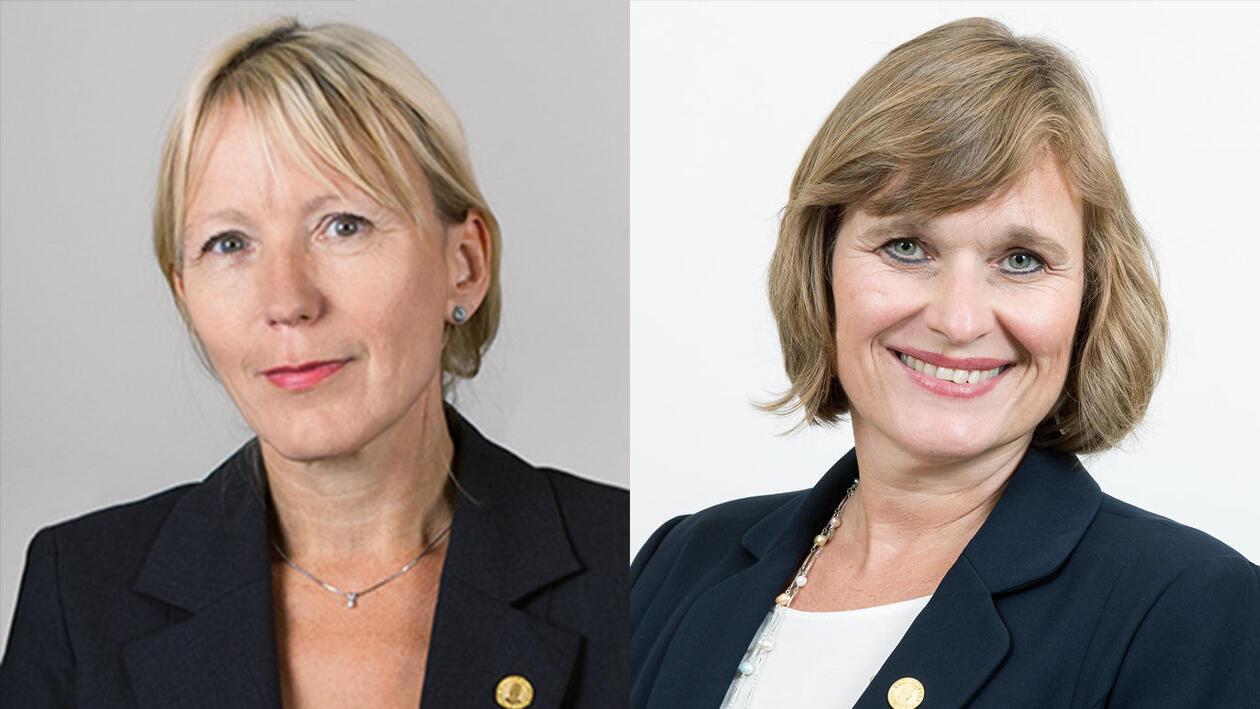 Margareth Hagen og Oddrun Samdal