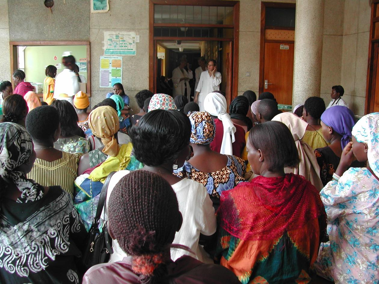 health centre in Africa