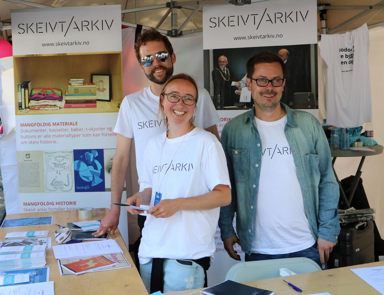 Heidi Rohde Rafto og Skeivt Arkiv