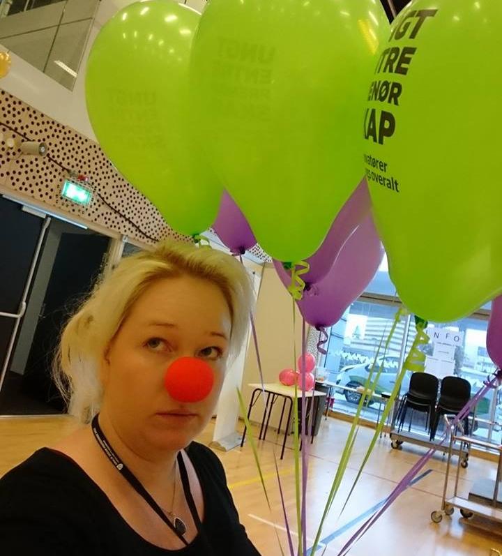 Helle Karina Johansen i praksis i Ungt Entreprenørskap