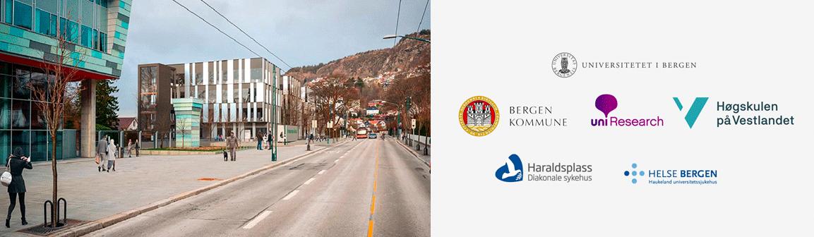 illustrasjon av bygget som skal bli den nye helseklyngen i Bergen
