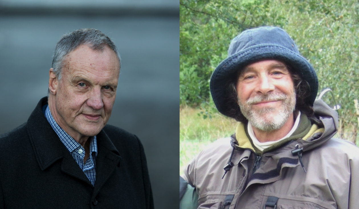 MOST INFLUENTIAL: Professors Christopher Henshilwood (left) and Kenneth Dickstein are listed as the most influential and cited researchers in the world.
