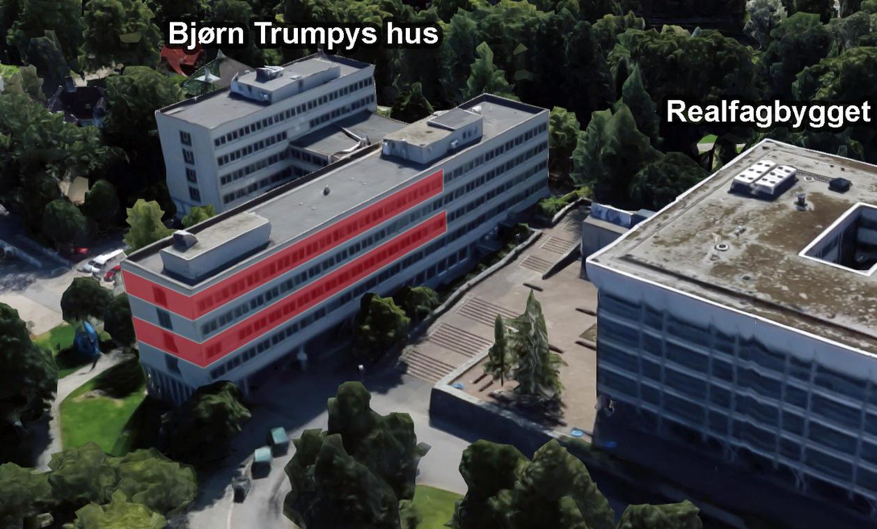 Subatomær fysikk sine kontorer