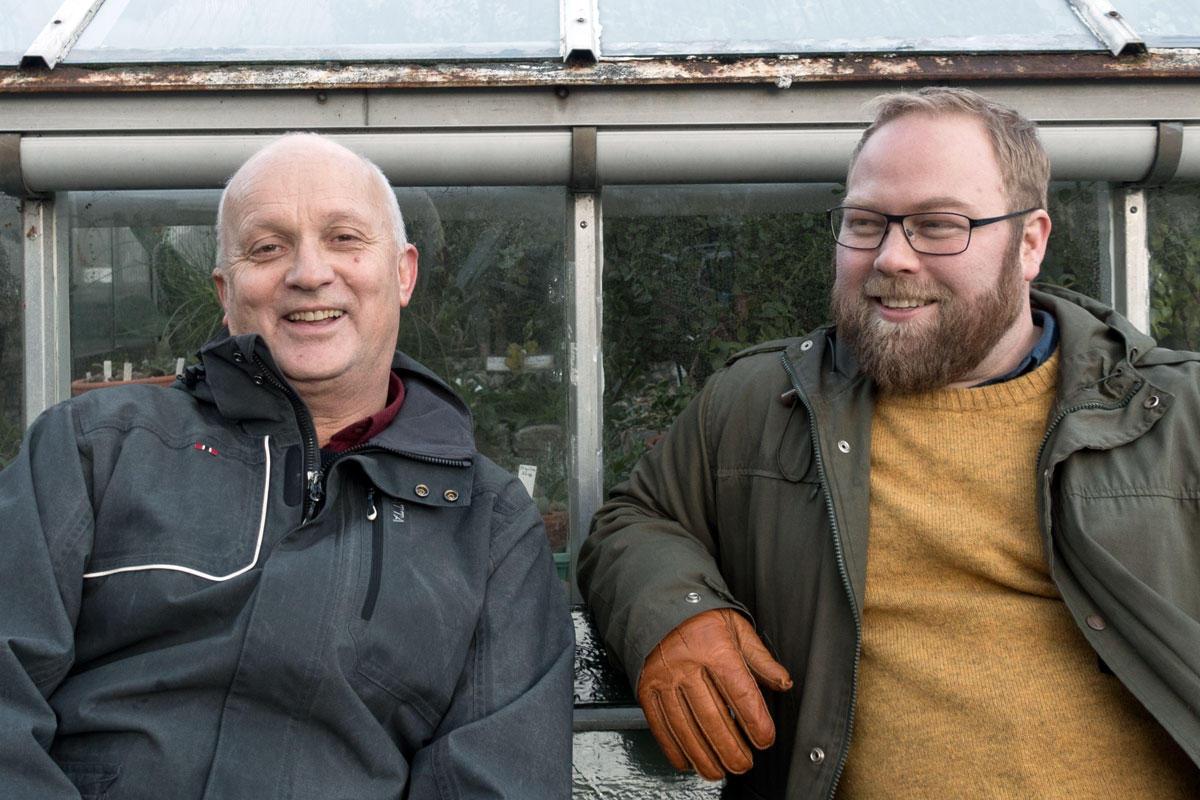Jo Høyer og Michael Hertzberg