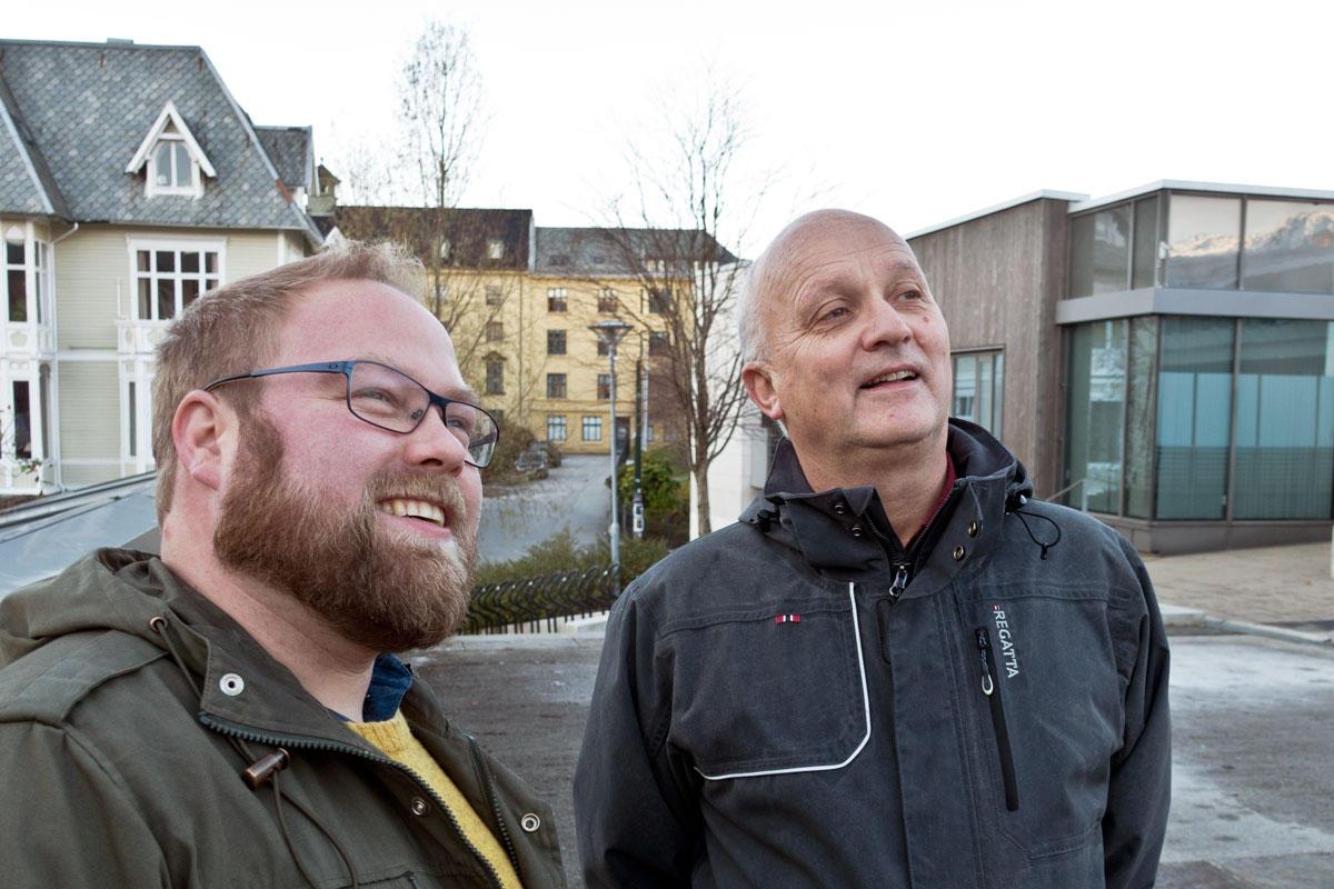 Michael Hertzberg og Jo Høyer