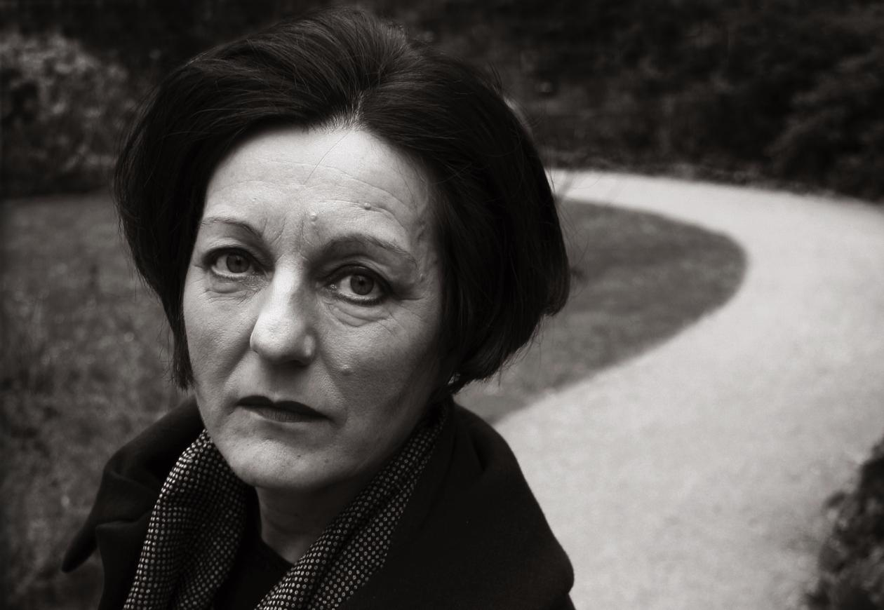 Author and Nobel Prize laureate Herta Müller.