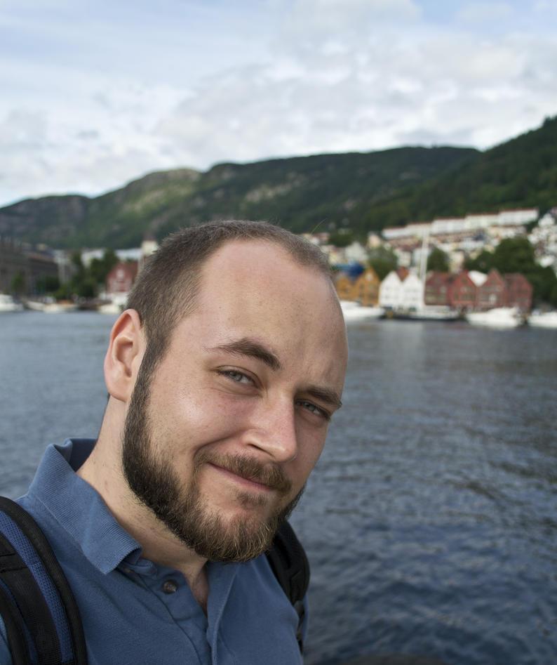 Alexander Raberg, German exchange student who studied Scandinavian Area Studies