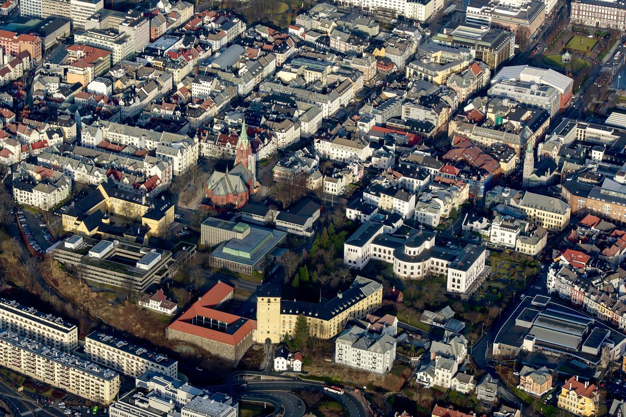 Flyfoto Sydneshaugen