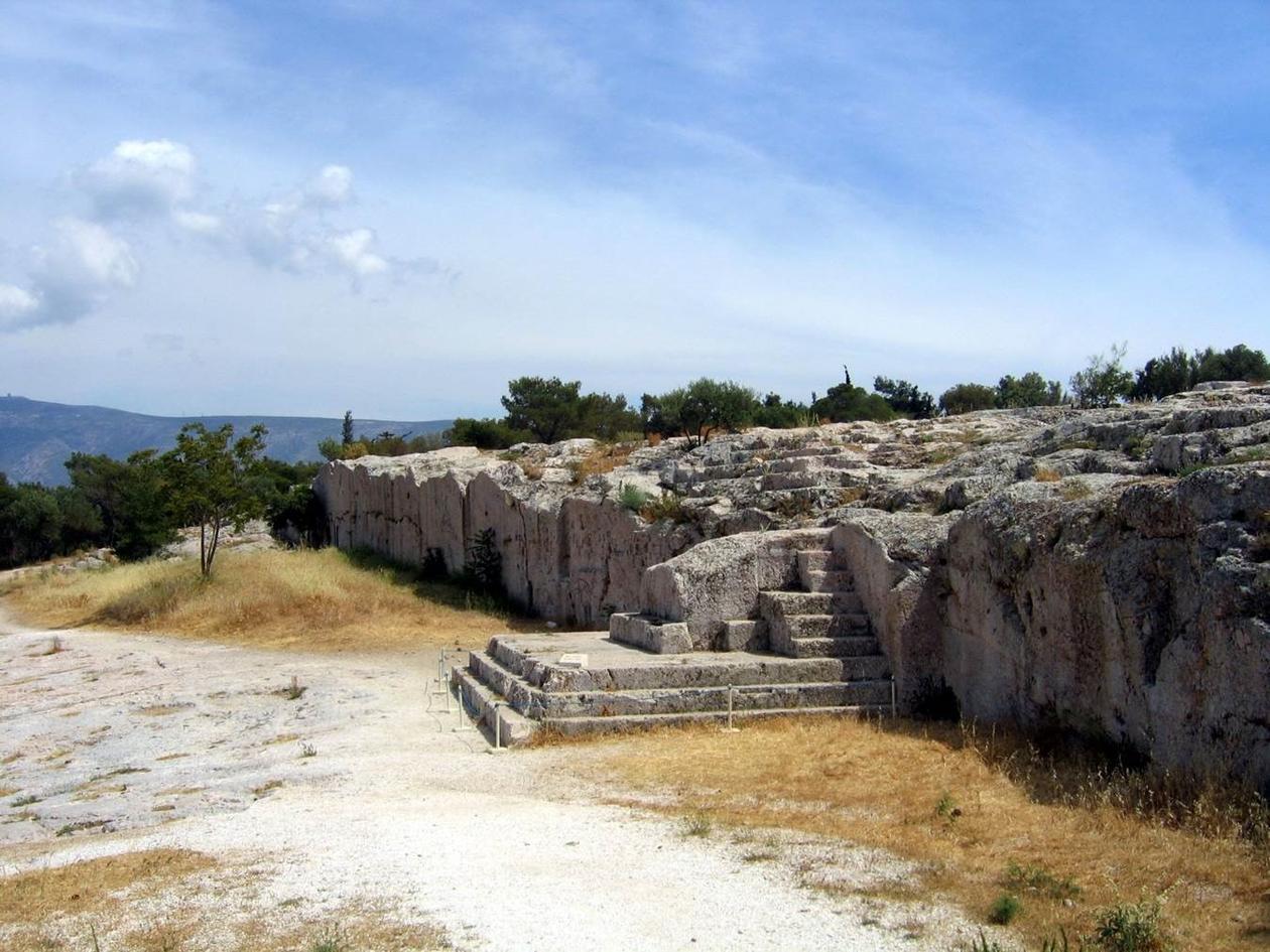 Talerstolen i Athens folkeforsamling.
