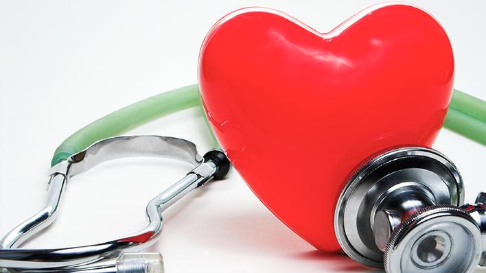 Illustrasjonsbilde: Hjerte og stetoskop